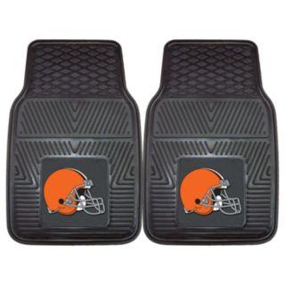 FANMATS 2-pk. Cleveland Browns Car Floor Mats