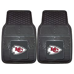 FANMATS 2-pk. Kansas City Chiefs Car Floor Mats