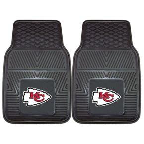 FANMATS 2-pk. Kansas City Chiefs Car Floor Mats