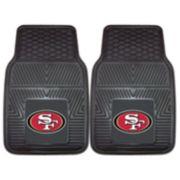 FANMATS 2-pk. San Francisco 49ers Car Floor Mats