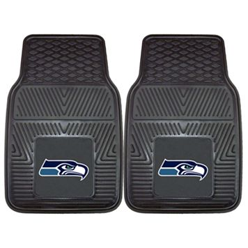 FANMATS 2-pk. Seattle Seahawks Car Floor Mats