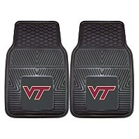 FANMATS 2-pk. Virginia Tech Hokies Car Floor Mats
