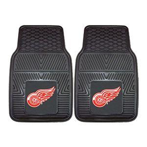 FANMATS 2-pk. Detroit Red Wings Vinyl Car Floor Mats