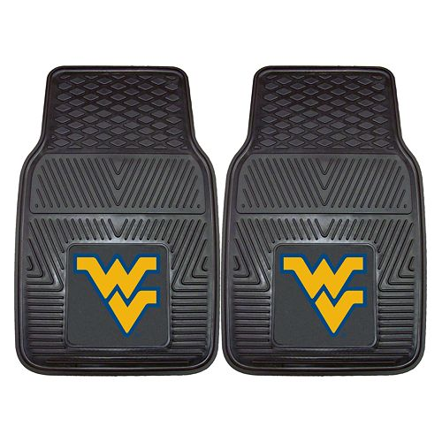 FANMATS 2-pk. West Virginia Mountaineers Car Floor Mats