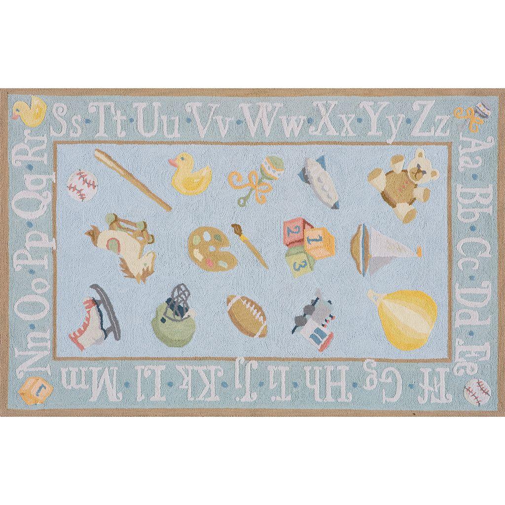 Momeni Lil Mo Classic Alphabet Rug - 24'' x 36''