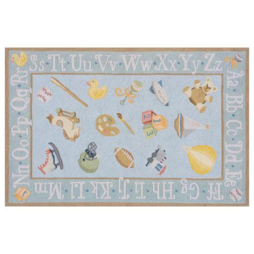 Momeni Lil Mo Classic Alphabet Rug - 8' x 10'
