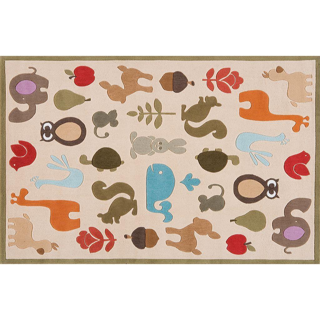 Momeni Lil Mo Whimsy Animal Rug - 24'' x 36''