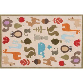 Momeni Lil Mo Whimsy Animal Rug - 4' x 6'