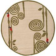 Momeni Lil Mo Whimsy Ladybug Rug - 5' Round