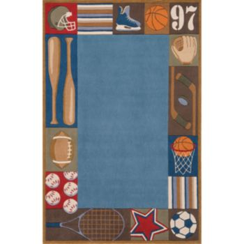 Momeni Lil Mo Whimsy Sports Rug