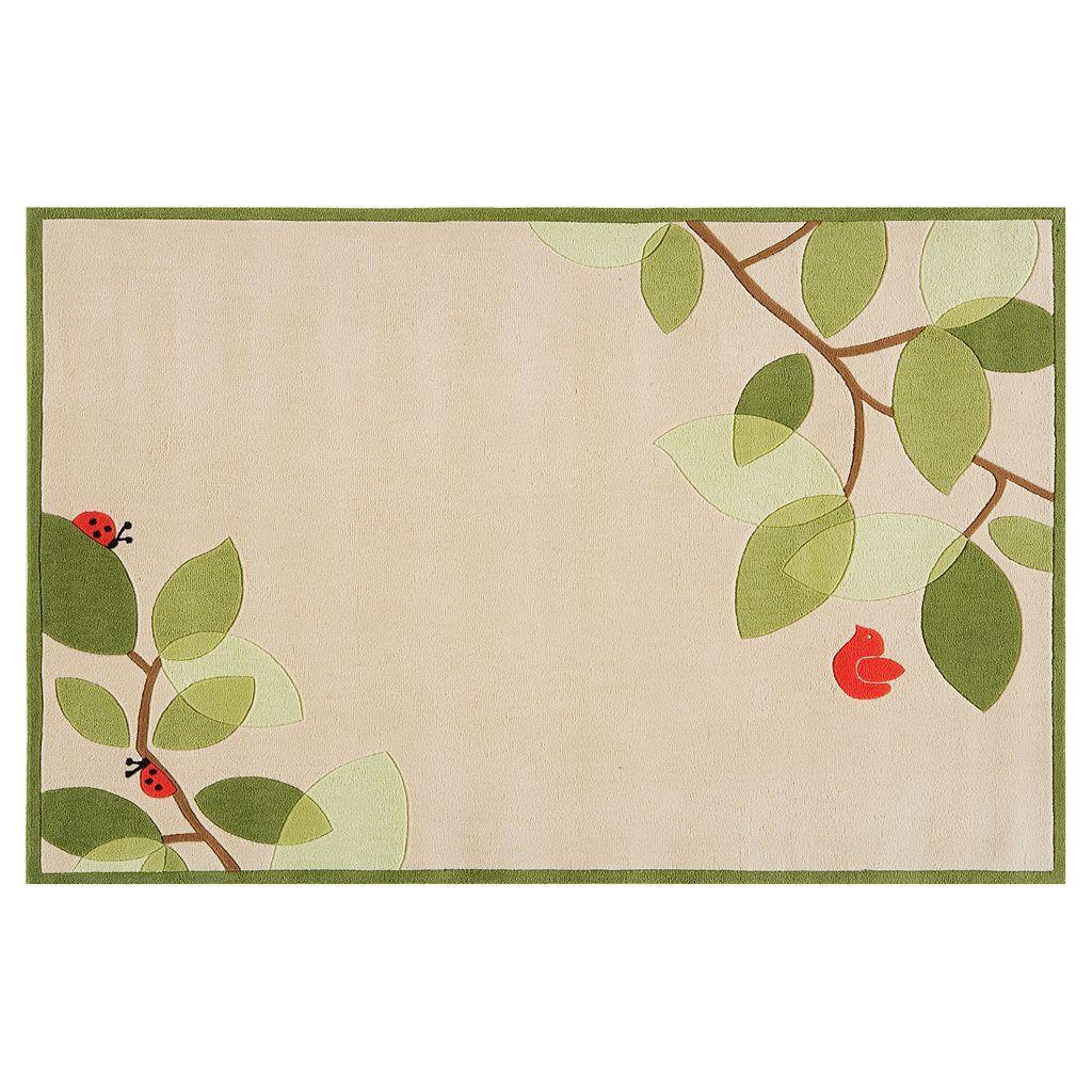 Momeni Lil Mo Whimsy Branch Rug - 4' x 6'