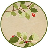 Momeni Lil Mo Whimsy Branch Rug - 5' Round