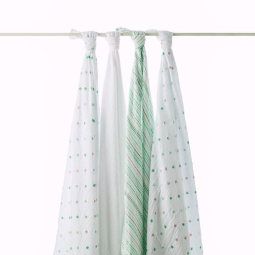 aden + anais 4-pk. oh my! Swaddles