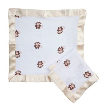 aden + anais 2-pk. Monkey Security Blankets