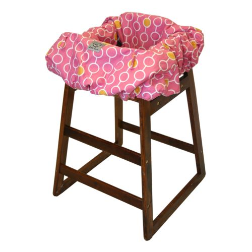 Little Luxe Link Shopping Cart and High Chair Cover