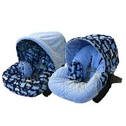 Little Luxe Transportation Reversible Infant Car Seat Cover
