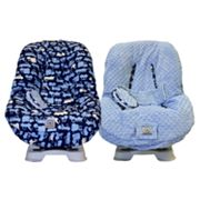 Little Luxe Transportation Reversible Toddler Car Seat Cover