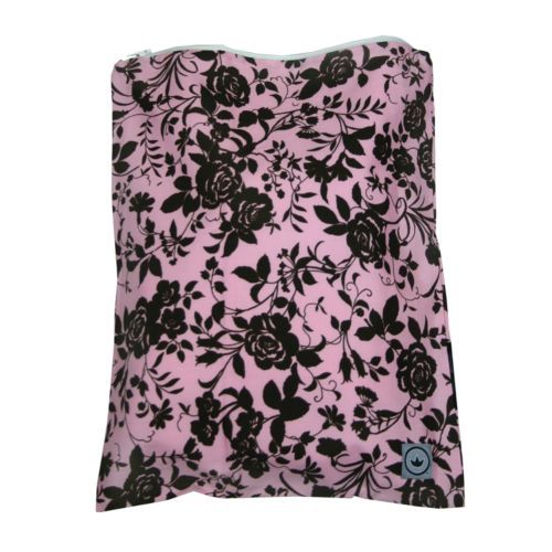 Little Luxe Floral Zippered Wet Bag