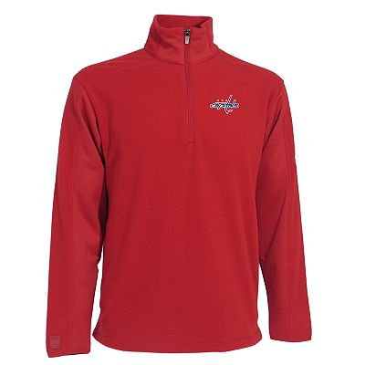 Washington Capitals Frost 1/4-Zip Fleece Pullover Jacket