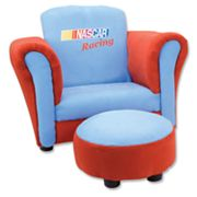 Trend Lab NASCAR Racing Chair and Ottoman Set