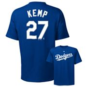 Majestic Los Angeles Dodgers Matt Kemp Tee