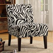 HomeVance Zebra Lounge Chair