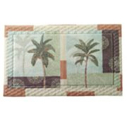 Bacova Palm Collage Bath Rug