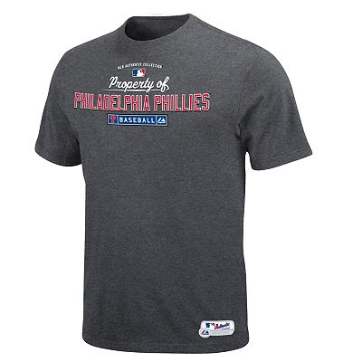 Majestic Philadelphia Phillies Property of Tee - Big and Tall