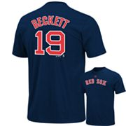 Majestic Boston Red Sox Josh Beckett Tee - Big and Tall