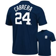 Majestic Detroit Tigers Miguel Cabrera Tee - Big and Tall
