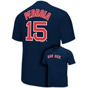 Majestic Boston Red Sox Dustin Pedroia Tee - Big and Tall