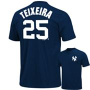 Majestic New York Yankees Mark Teixeira Tee - Big and Tall