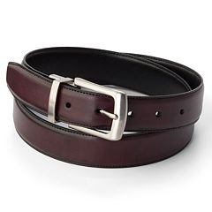 Men's Croft & Barrow® Soft Touch Reversible Belt