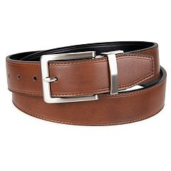 Men's Croft & Barrow® Soft Touch Stitched Reversible Belt