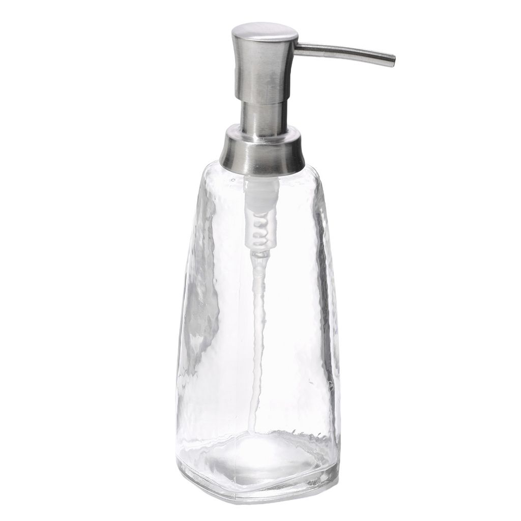 interDesign Vitri Glass Soap Pump