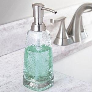 interDesign Vitri Glass Soap Pump