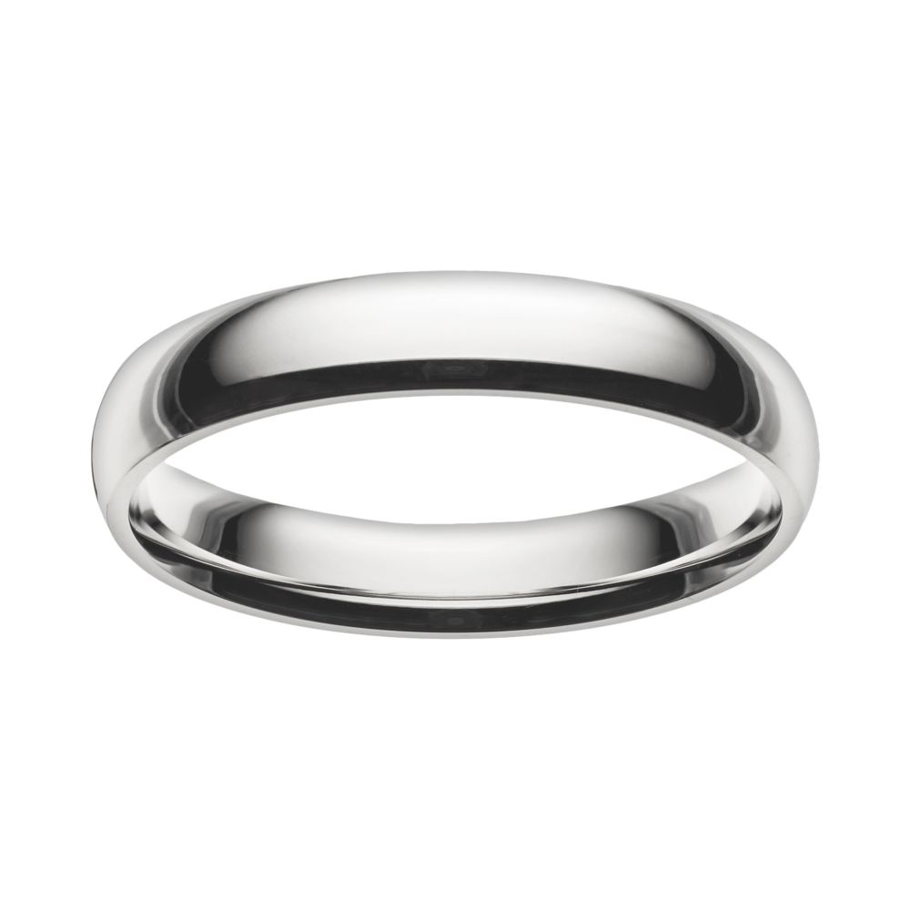 Always Stainless Steel Wedding Band Men