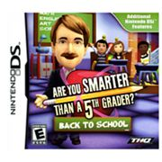 Are You Smarter Than A 5th Grader: Back 2 School for Nintendo DS
