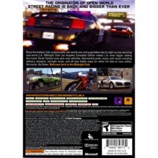 Midnight Club: Los Angeles The Complete Edition for Xbox 360