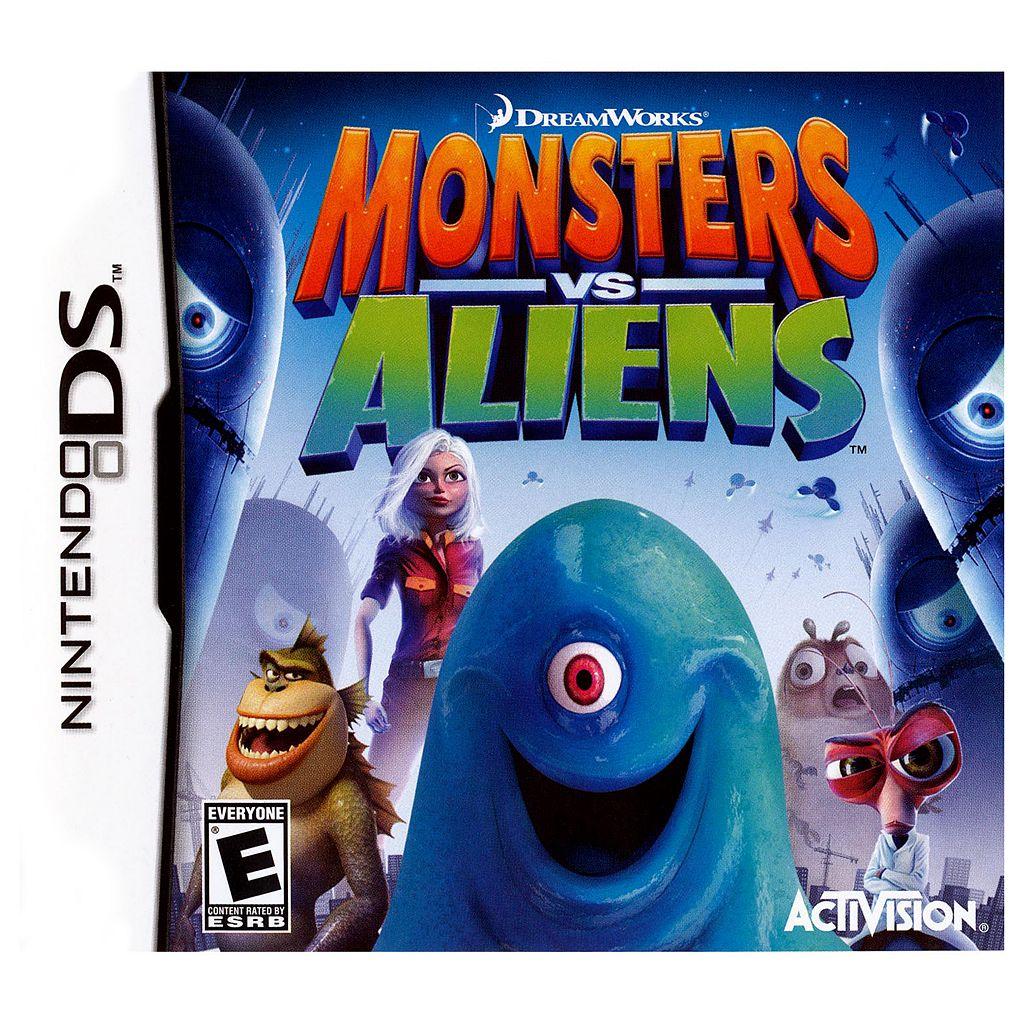 DreamWorks Monsters vs. Aliens for Nintendo DS
