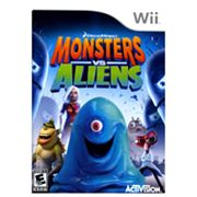 DreamWorks Monsters vs. Aliens for Nintendo Wii