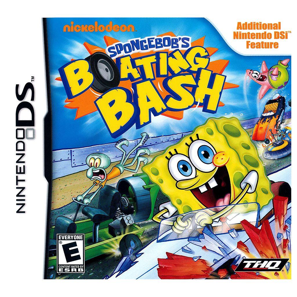 SpongeBob's Boating Bash for Nintendo DS