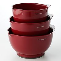 KitchenAid 3 pc Mixing Bowl Set