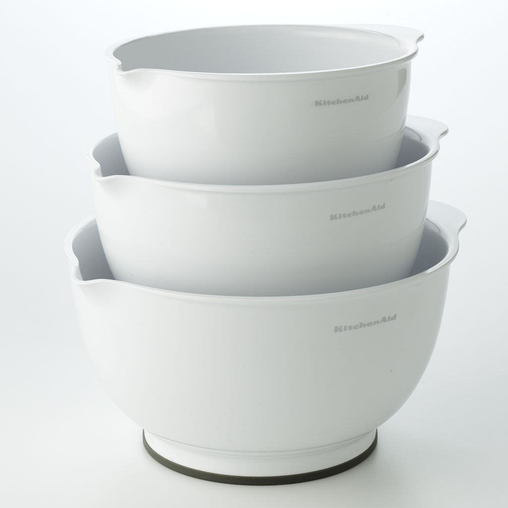 KitchenAid 3-pc. Mixing Bowl Set