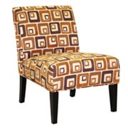 HomeVance Cube Accent Chair