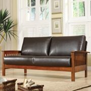 HomeVance Mission Sofa