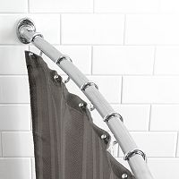 Splash Home Curved Shower Curtain Rod