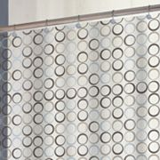 Splash Home Eclipse Vinyl Shower Curtain