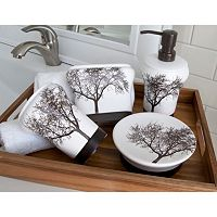 Splash Home Tree 4-pc. Bath Accessory Set