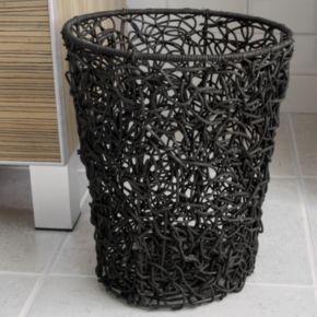 Splash Home Tree Rattan Wastebasket